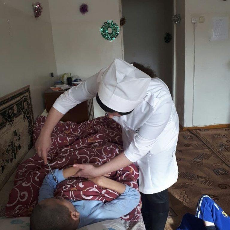 Сегодня врачи специалисты ГБУЗ «Сунженская ЦРБ» выехали в Троицкий психоневрологический дом-интернат