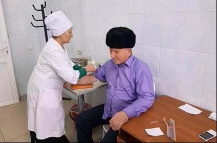 Сегодня в ГБУЗ»Сунженская ЦРБ»прошла акция выходного дня «Победим рак вместе»